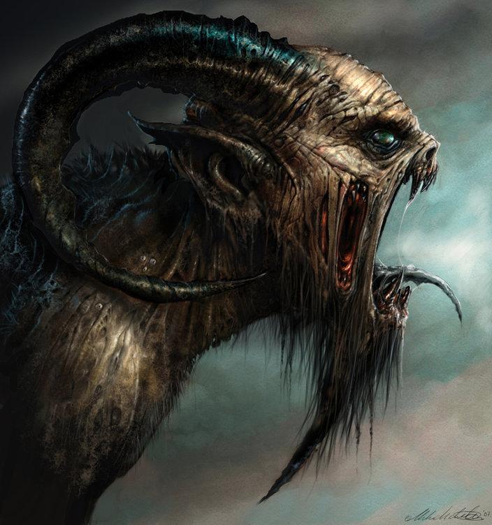 Demon mike mccarthy posté dans démons demon est une oeuvre digitale