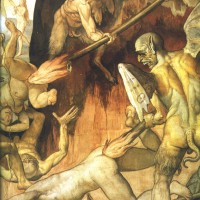 Le Jugement Dernier, Giorgio Vasari & Frederico Zuccaro (détail 2)